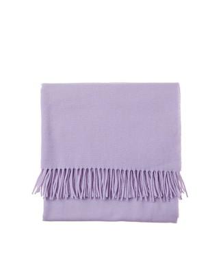 Aurora Wool Scarf, Pastel Lilac