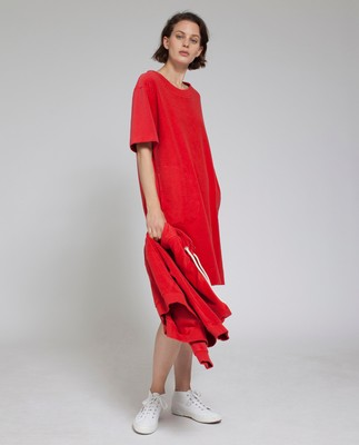 Cory Terry Dress, Pompeian Red- Coming soon!