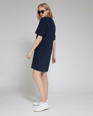 Cory Terry Dress, Deep Marine Blue