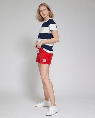 Naomi Terry Shorts, Pompeian Red- Coming soon!
