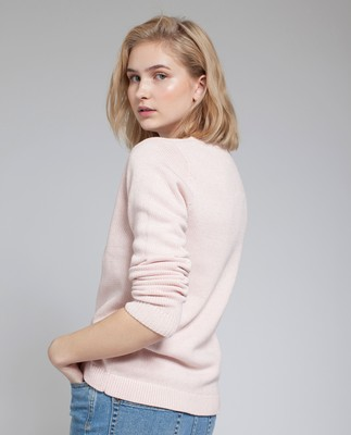 Lova Sweater, Cloud Pink