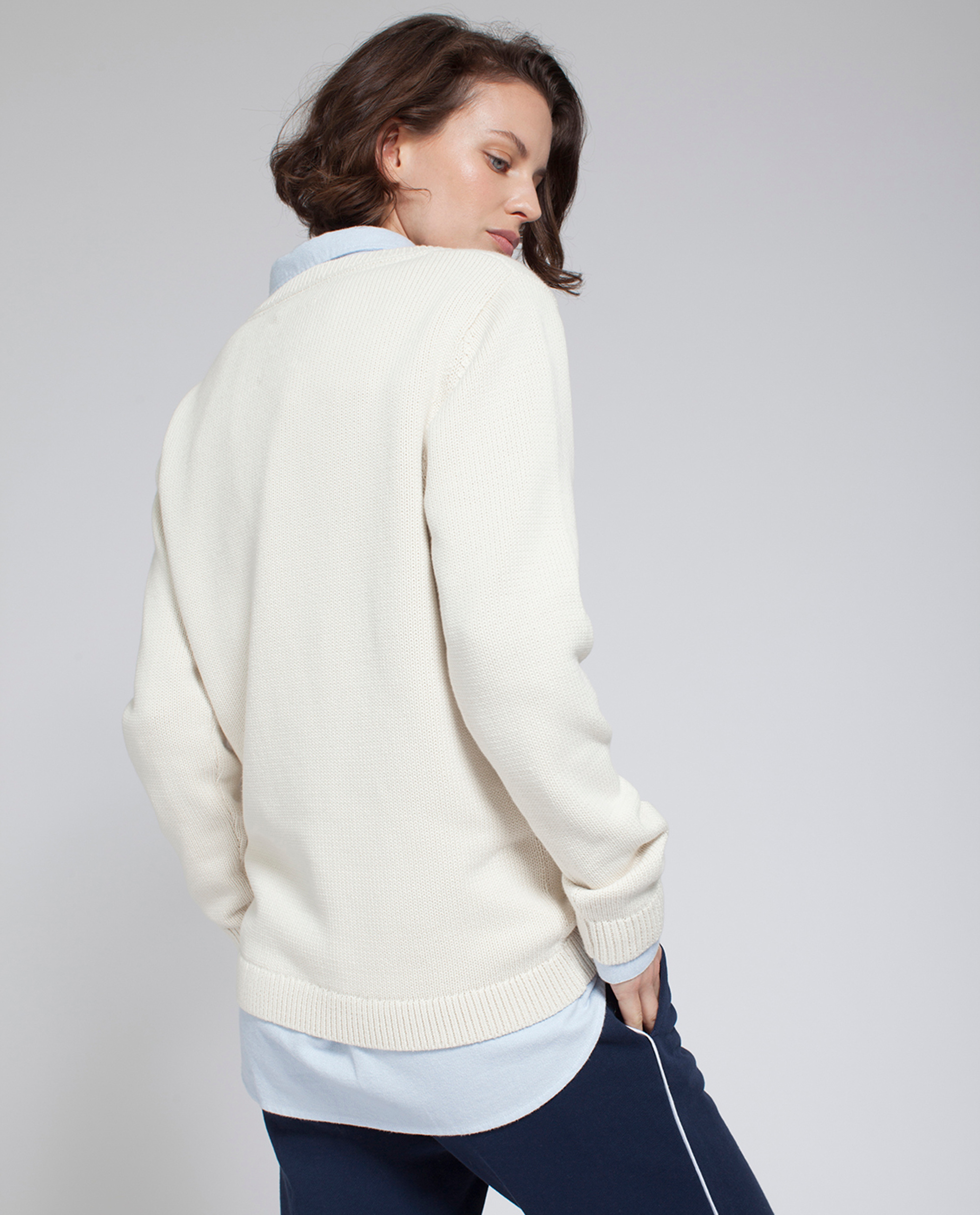 Lova Sweater, Shell White