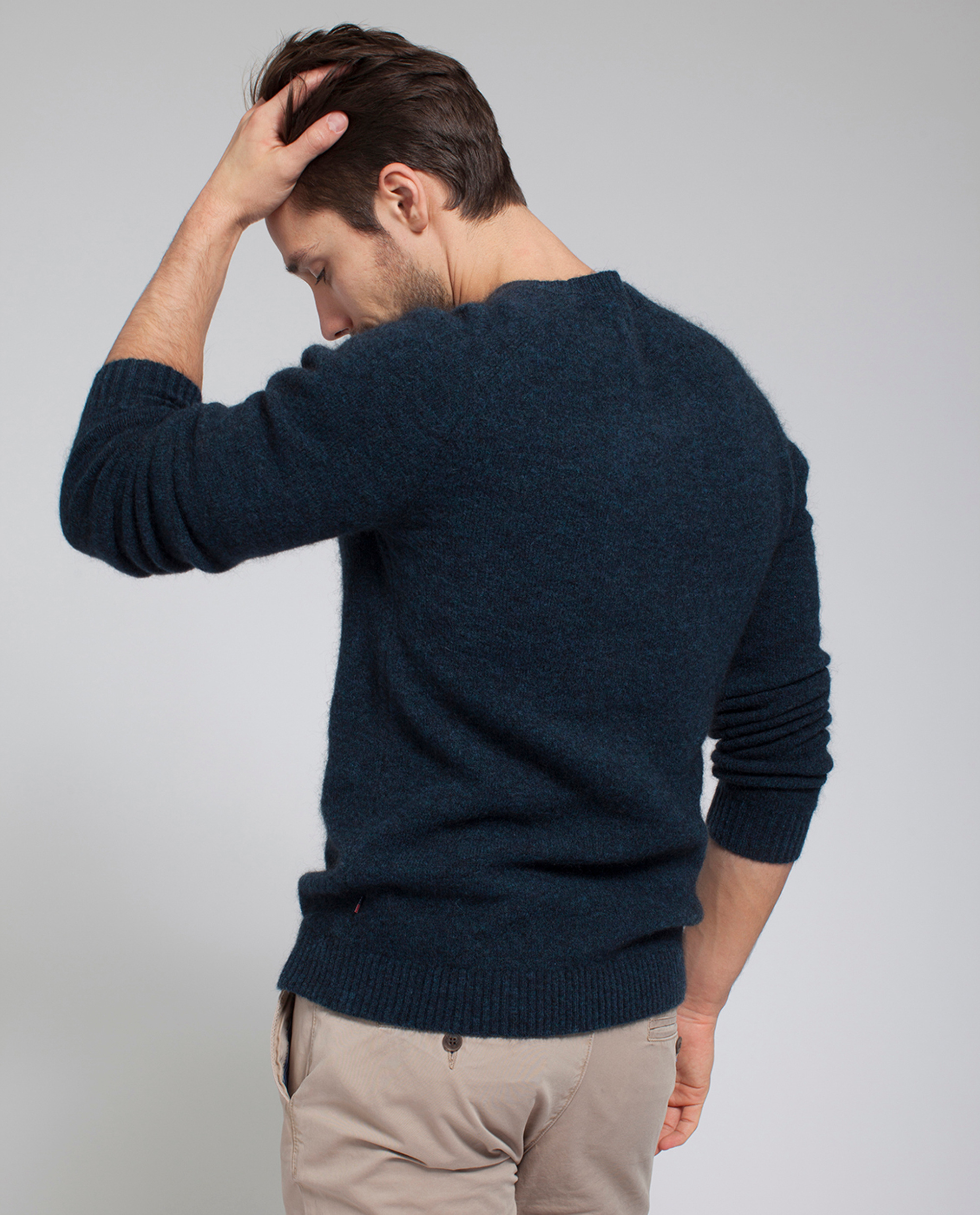 Harry Mohair Sweater, Indigo
