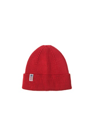 Stockton Cotton Beanie, Pompeian Red