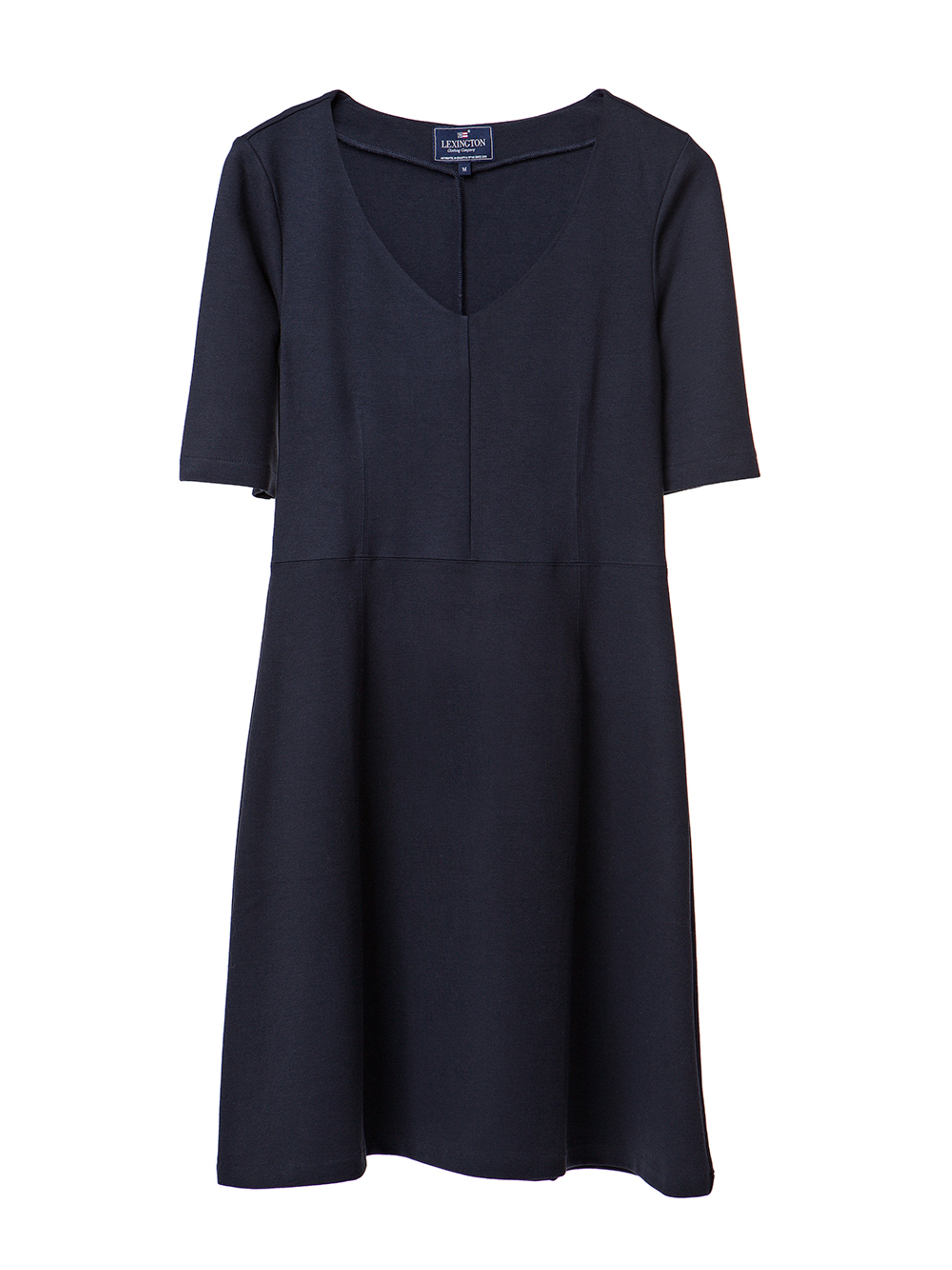 Scarlett Jersey Dress, Deep Marine Blue