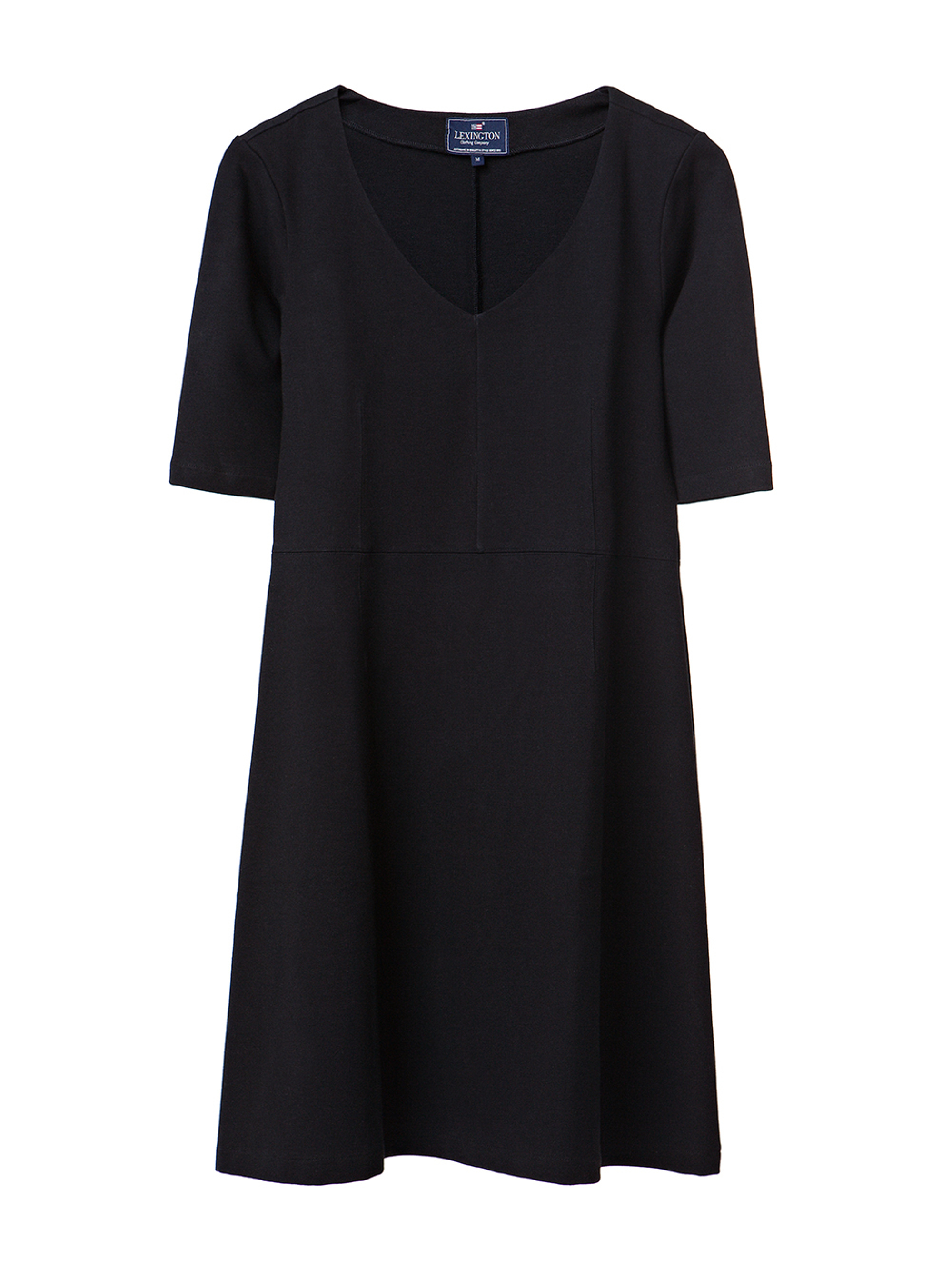 Scarlett Jersey Dress, Caviar Black