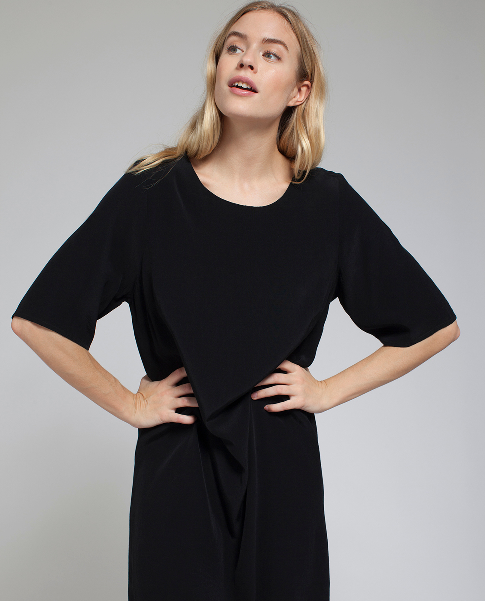 Grace Dress, Caviar Black