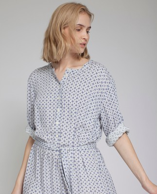 Tuva Printed Tunic Dress