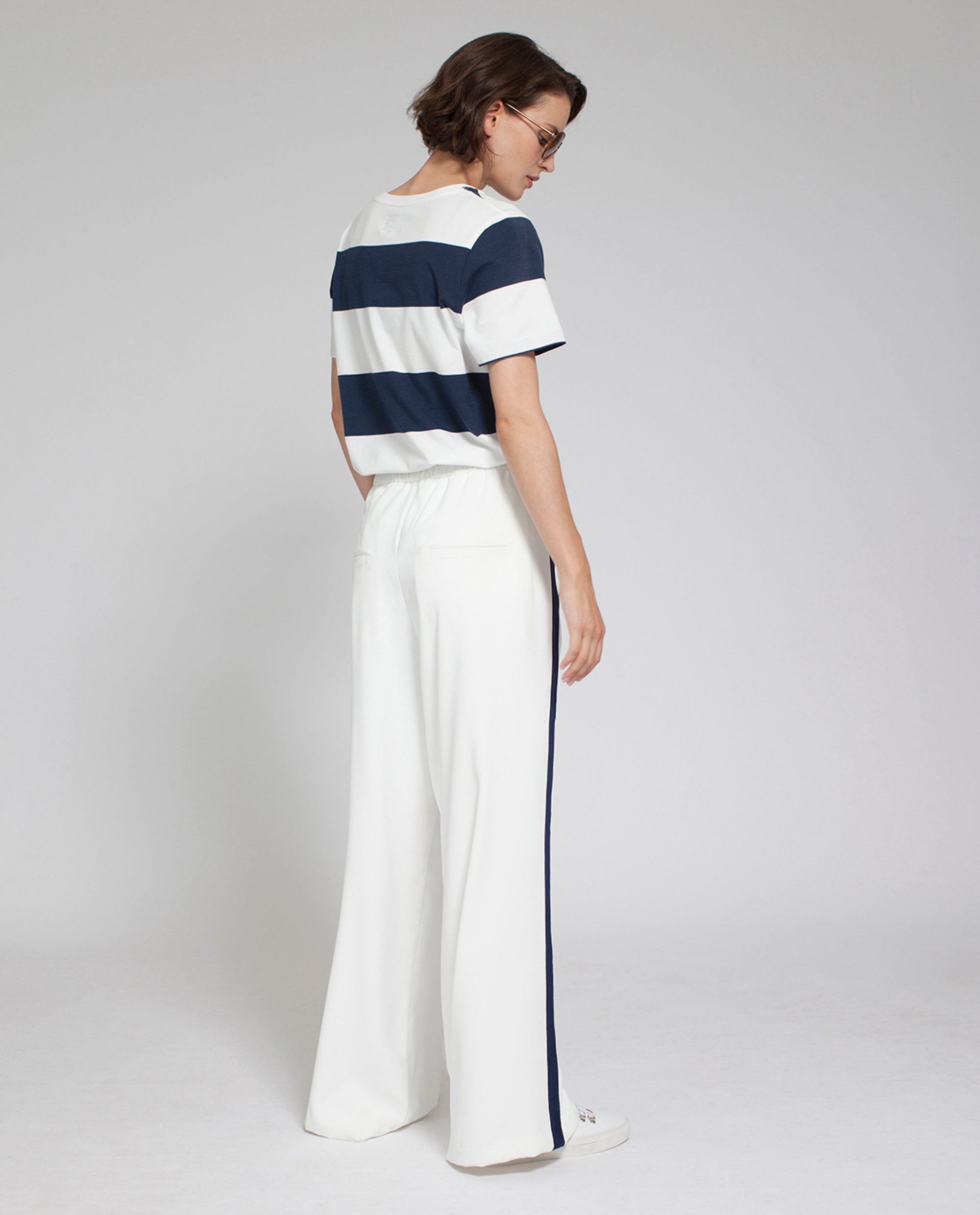 Celine Wide Pants, Snow White