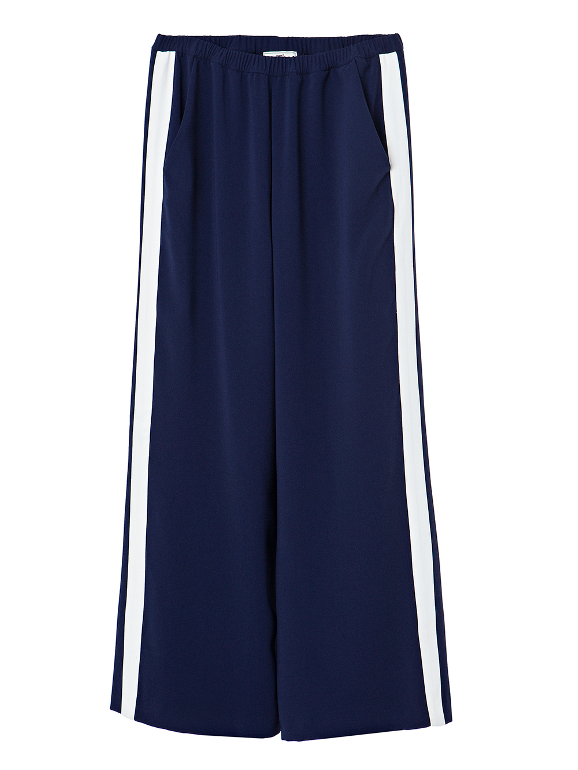Celine Wide Pants, Deepest Blue