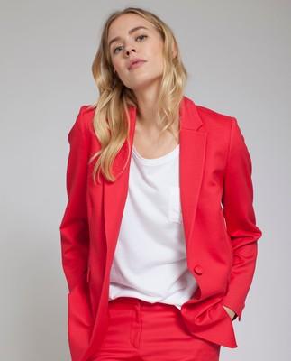 Frida Blazer, Pompeian Red