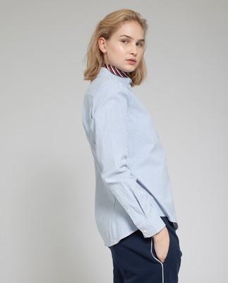 Sarah Oxford Shirt, Blue/White