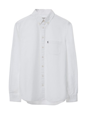 Sarah Oxford Shirt, Bright White