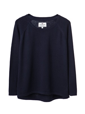 Lea Sweater, Deepest Blue