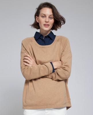 Lea Sweater, Camel