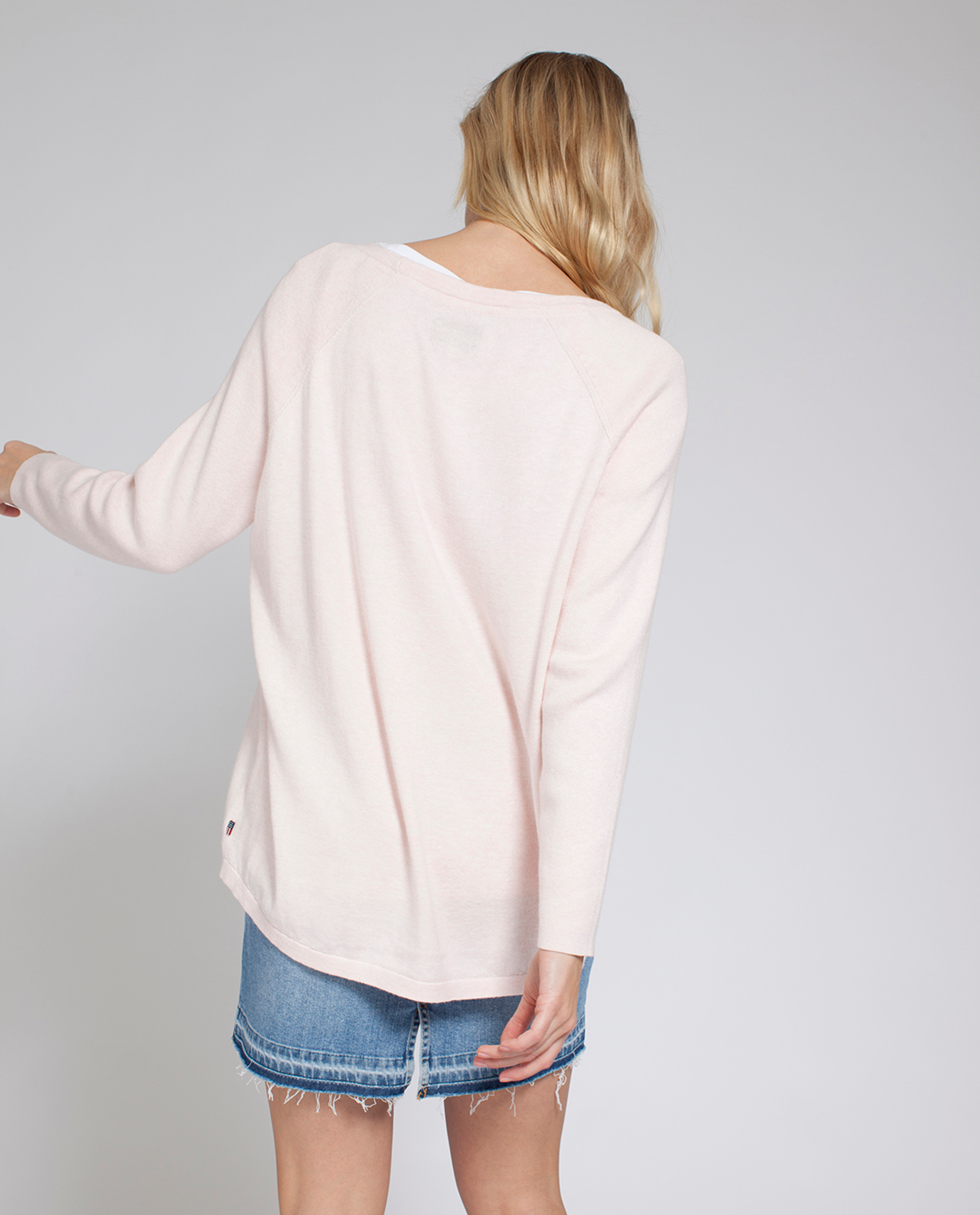 Lea Sweater, English Rose Pink