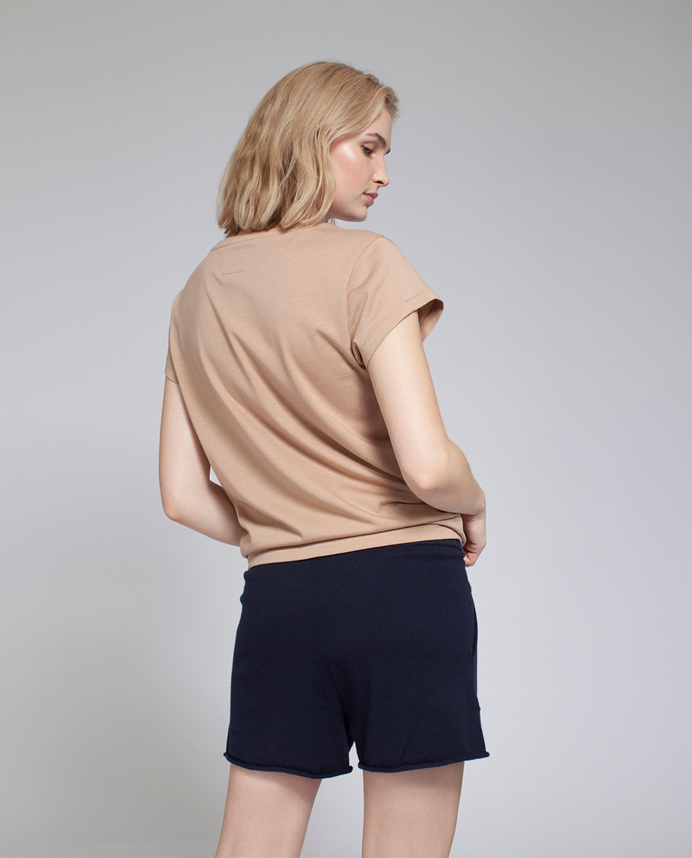 Sabine Knit Shorts, Deepest Blue