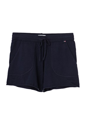 Sabine Knit Shorts, Deepest Blue
