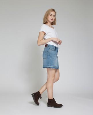 Alexa Denim Skirt