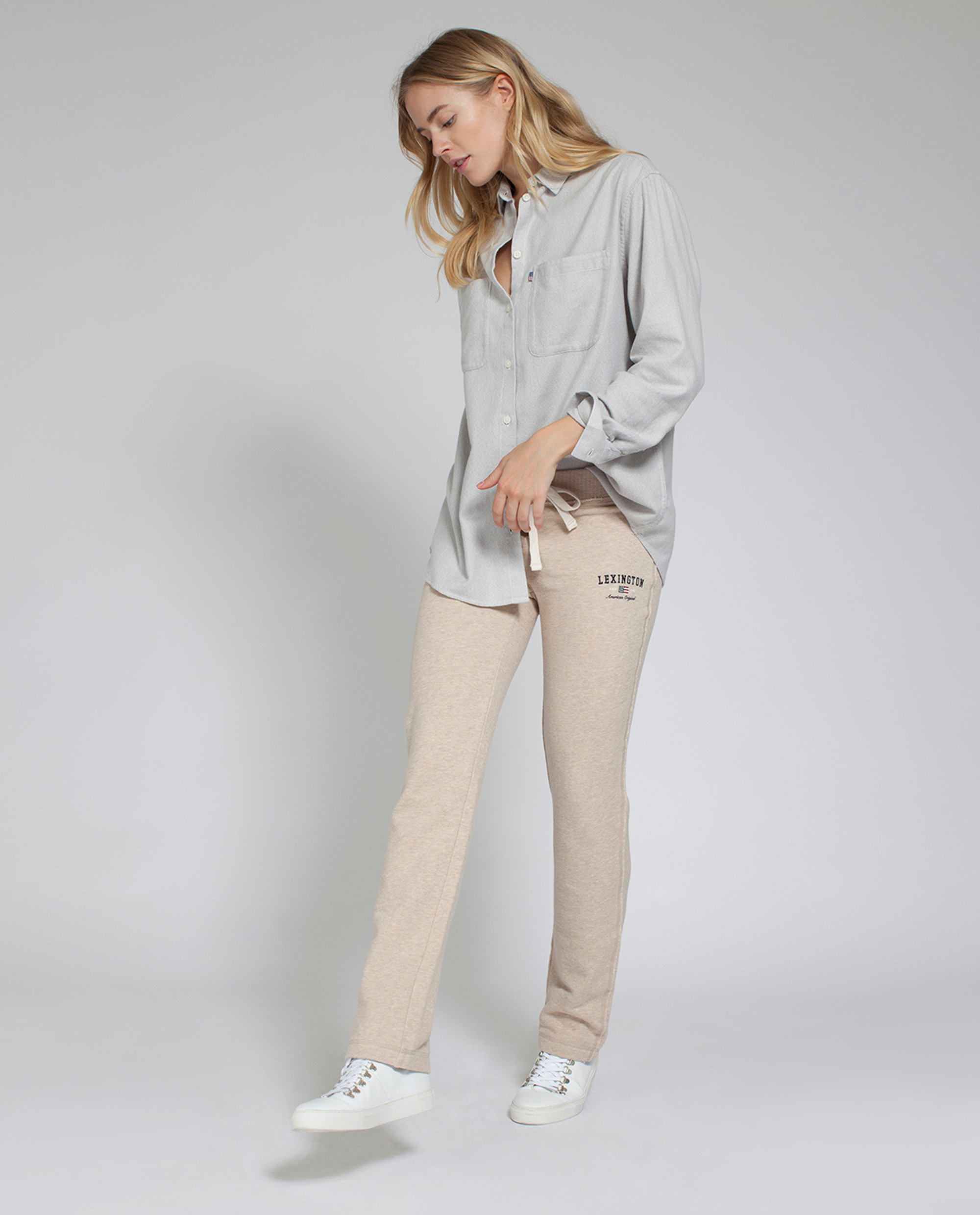 Jenna Pants, Feather Gray
