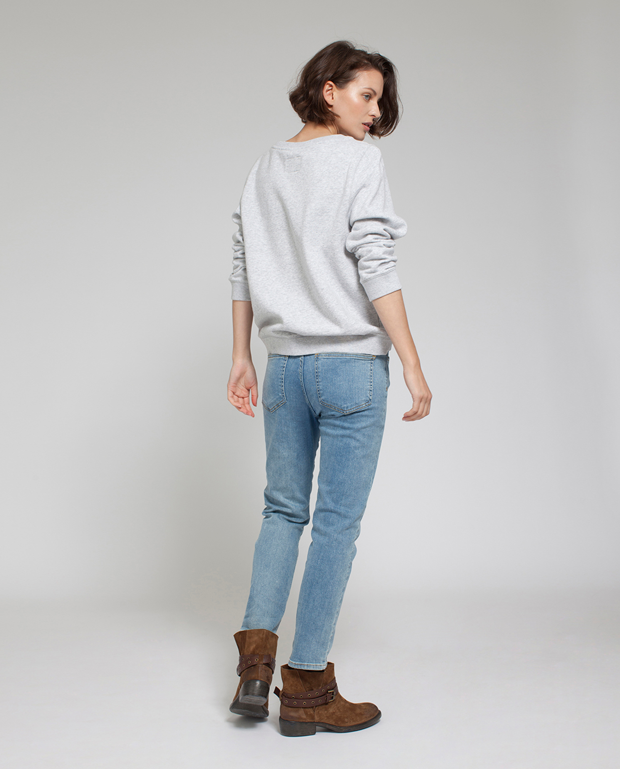 Chanice Sweatshirt, Light Gray