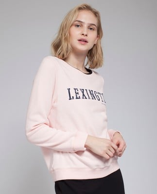 Chanice Sweatshirt, English Rose Pink