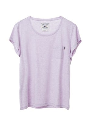 Ashley Jersey Tee, Pastel Lilac