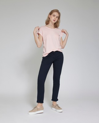 Ashley Jersey Tee, Veiled Rose Pink