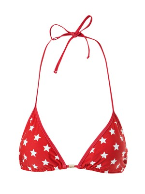 Stephanie Bikini Top, Red