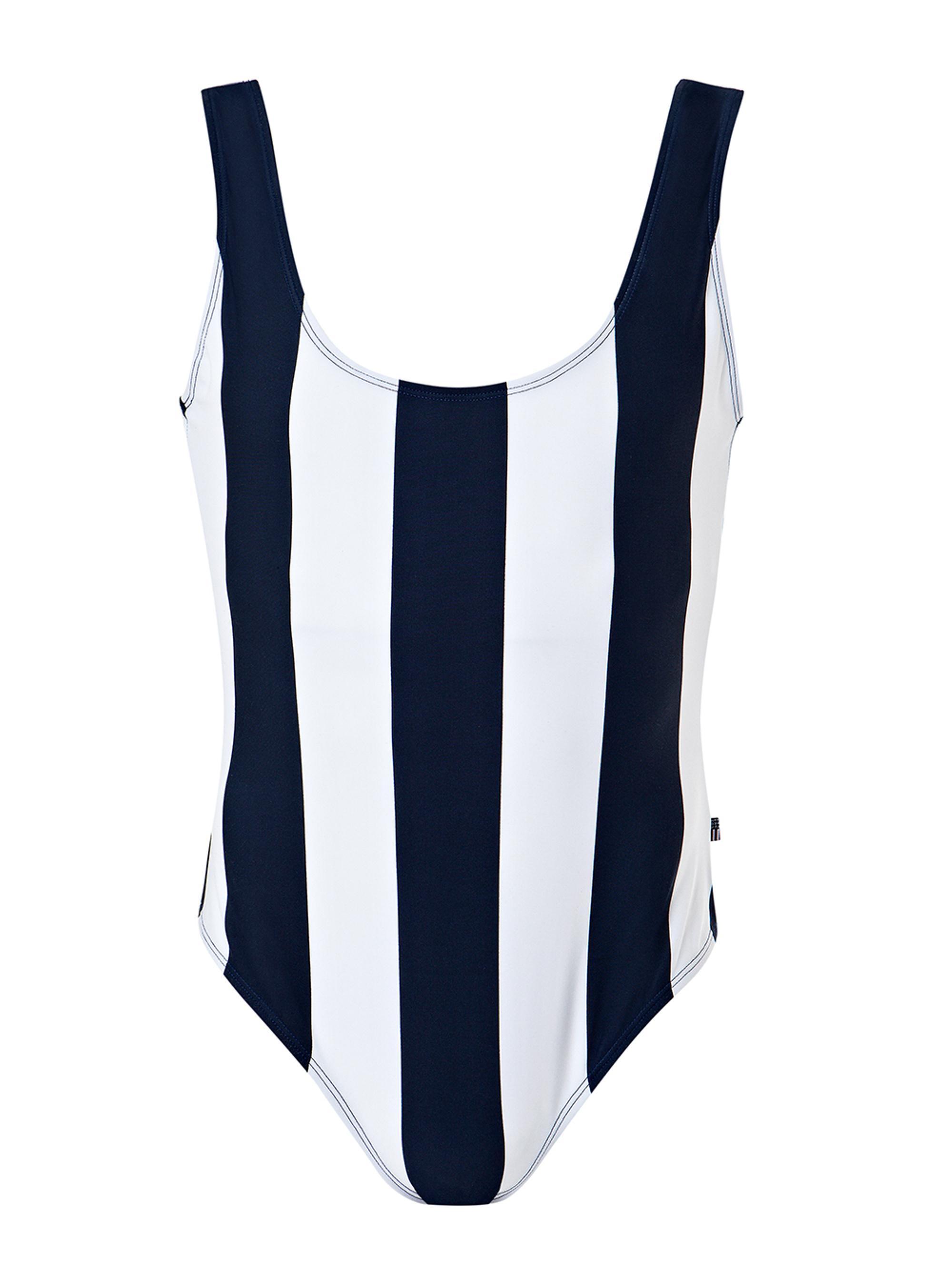 Lisa Swimsuit, Blue/White