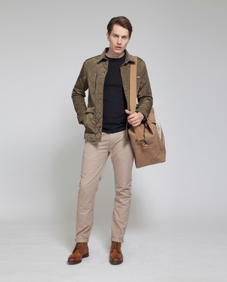 Hunter Quilted Jacket, Hunter Green