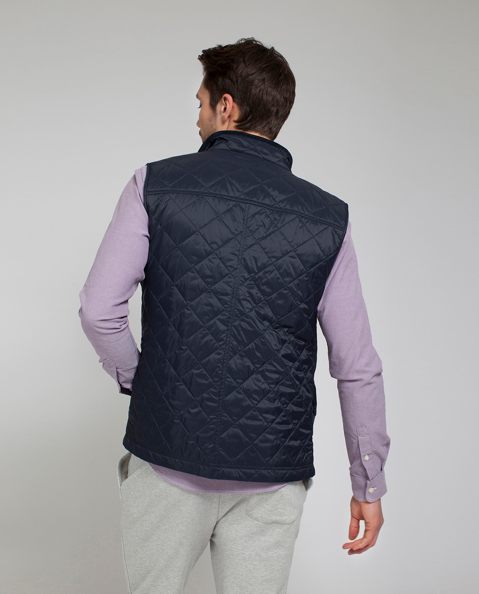 Gregory Quilted Vest, Deep Marine Blue
