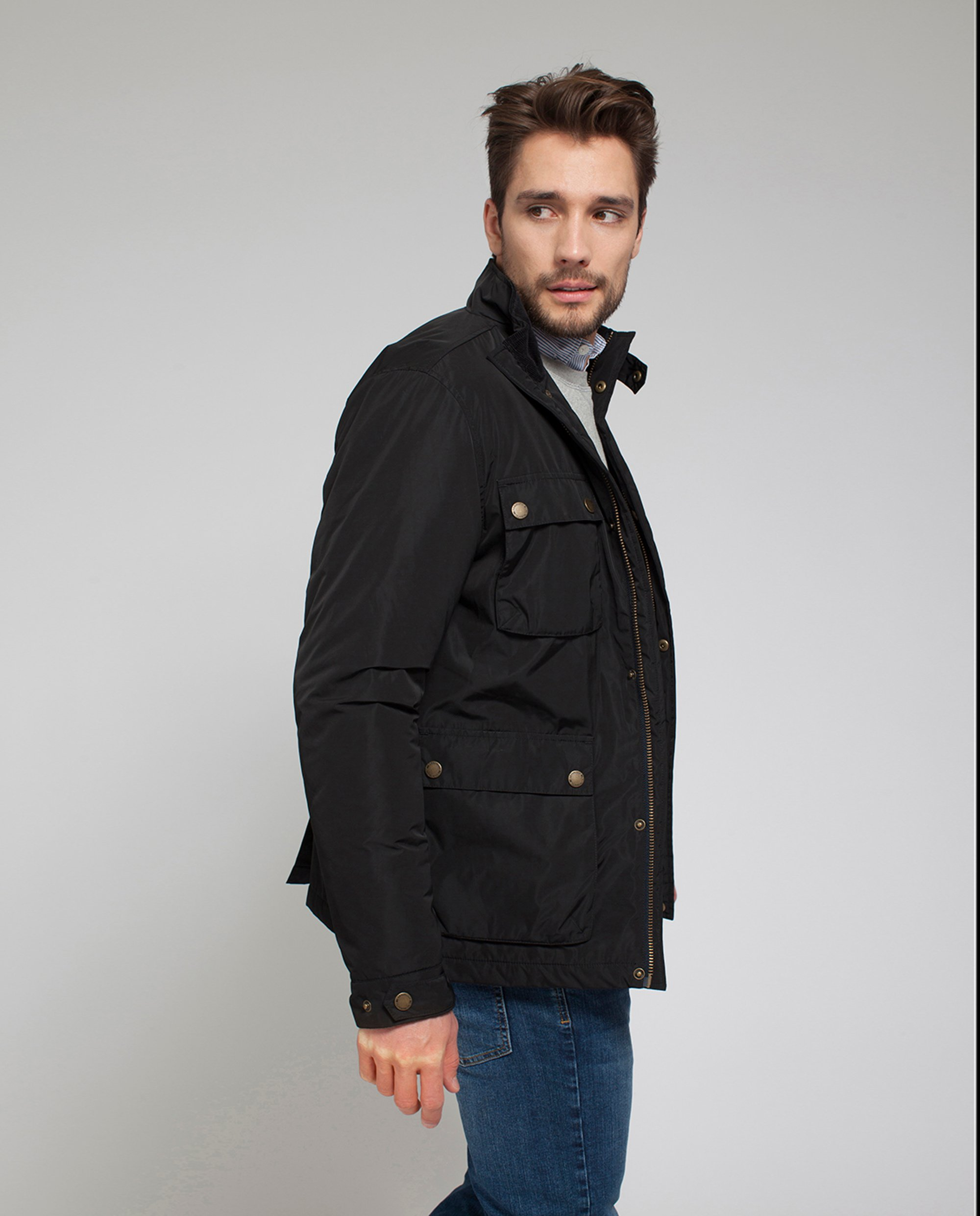 Hayden Jacket, Deep Marine Blue