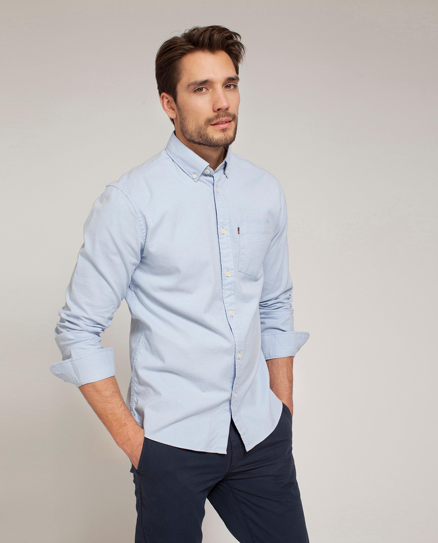 Kyle Oxford Shirt Light Blue