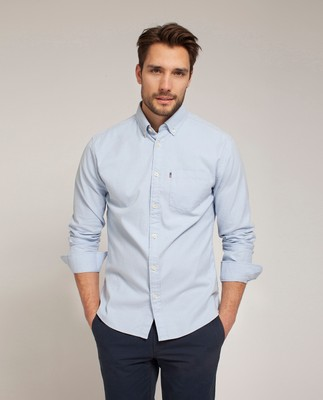 Kyle Oxford Shirt, Light Blue