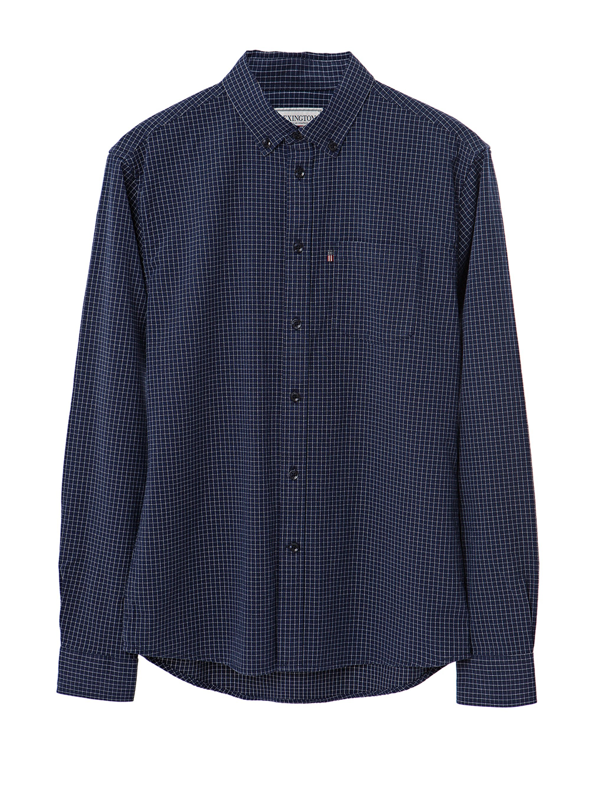 Kyle Oxford Shirt, Blue/White Check