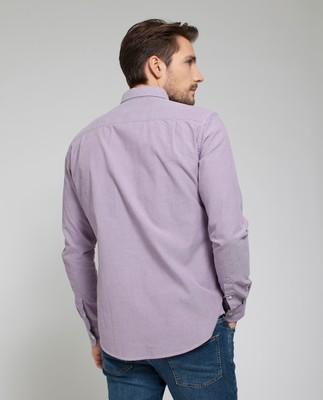 Kyle Oxford Shirt, Grape Jam