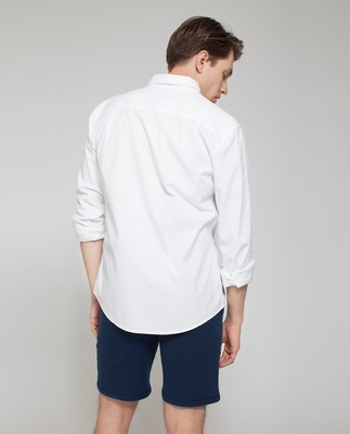 Kyle Oxford Shirt, Bright White