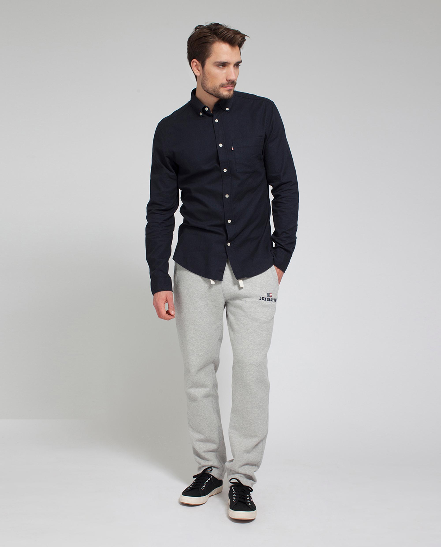 Peter Light Flannel Shirt, Deep Marine Blue