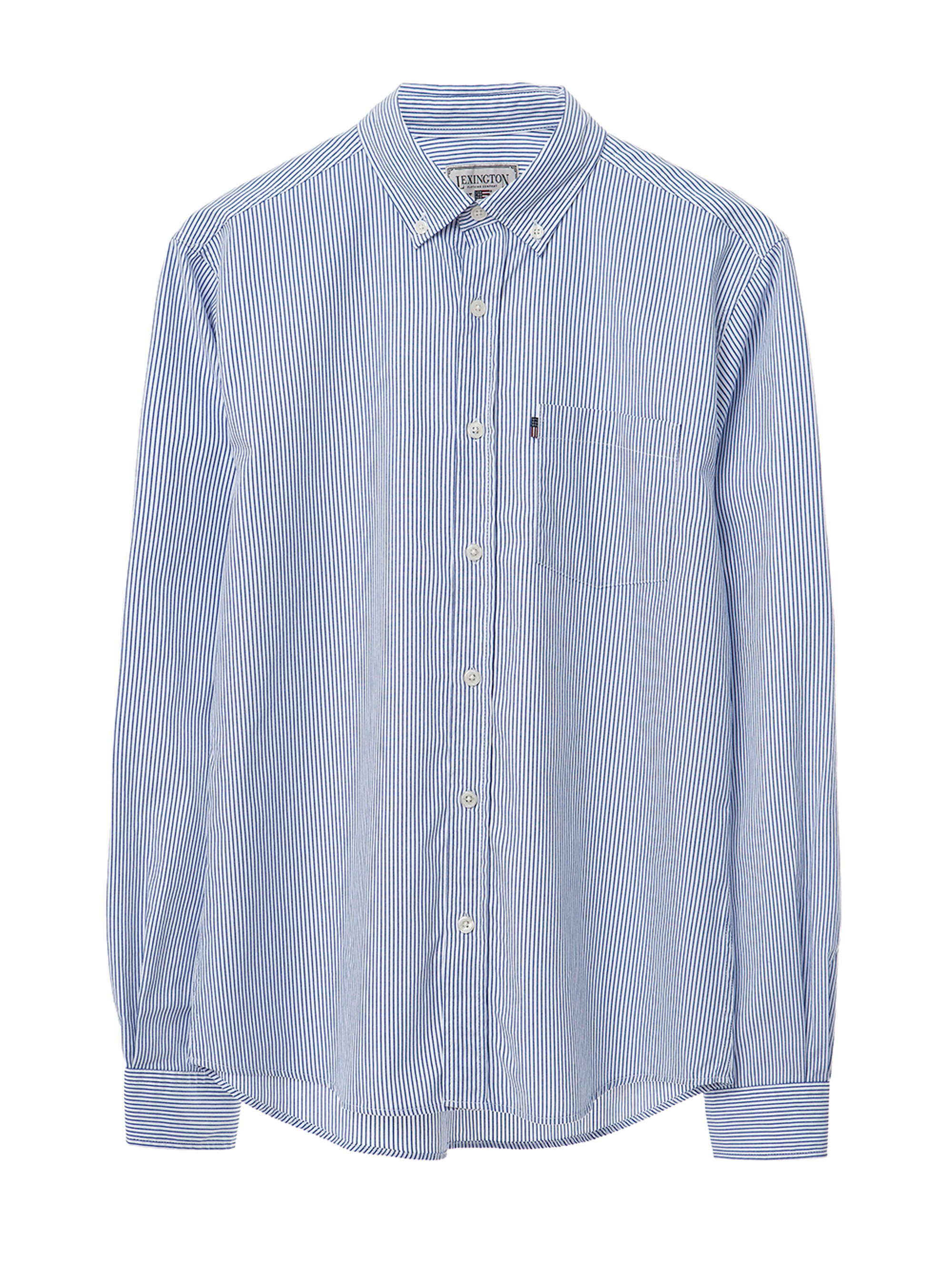Peter Light Oxford Shirt, Blue/White
