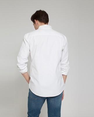 Taylor Poplin Shirt, Bright White