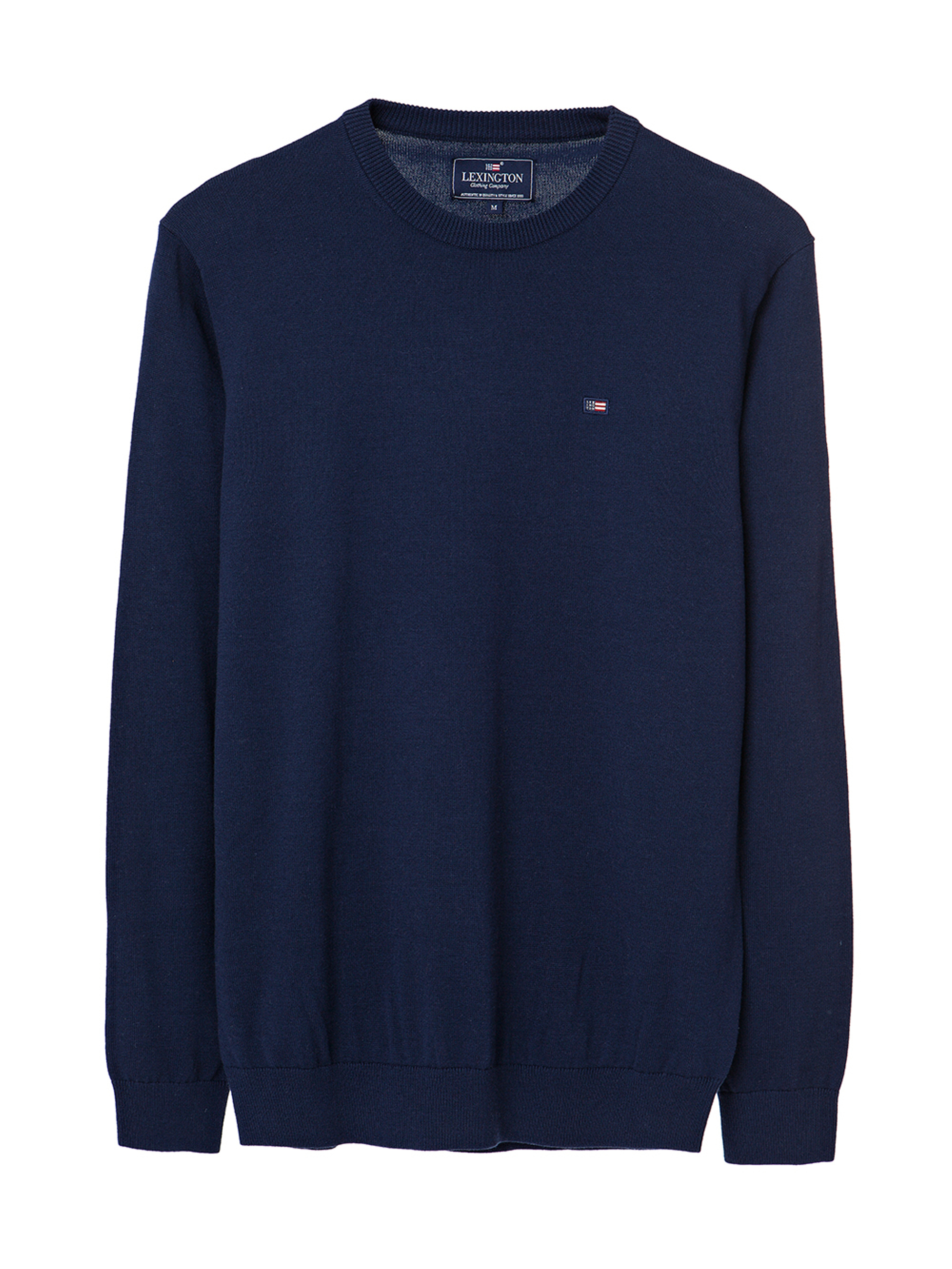 Bradley Crewneck Sweater, Deepest Blue