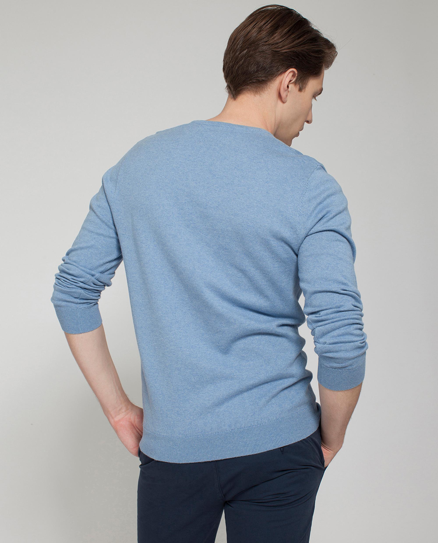 Nicholas V-Neck Sweater, Light Blue