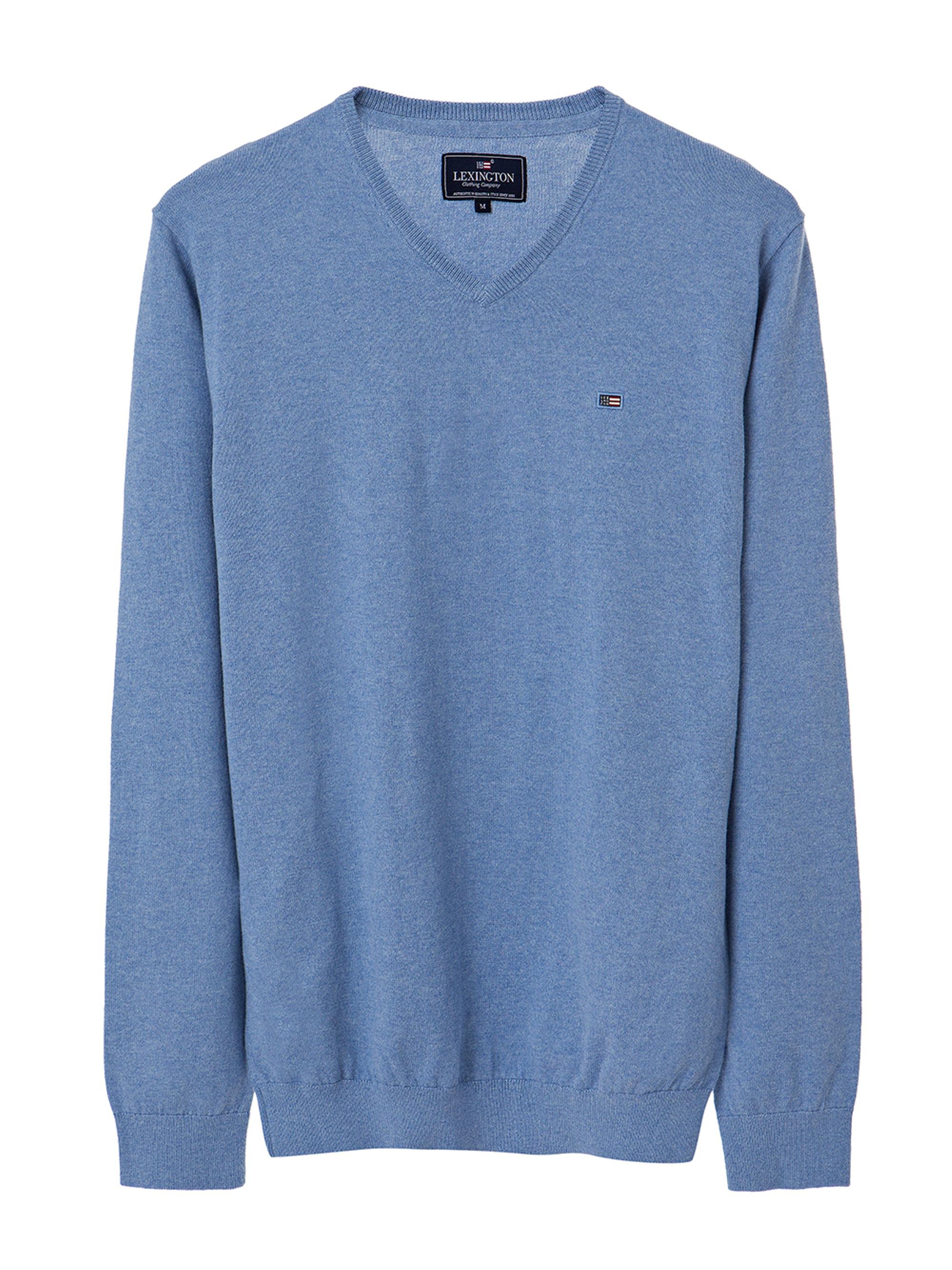 V-Neck Sweater, Light Blue