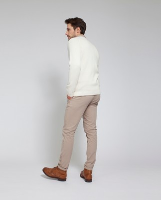 Dylan Sweater, Shell White