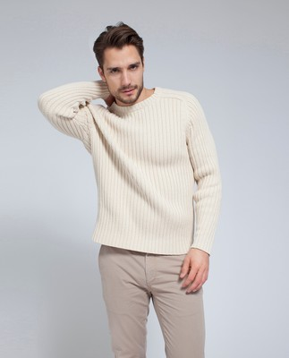 Presley Sweater, Shell White