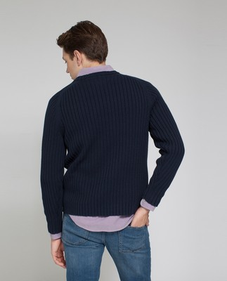 Presley Sweater, Deepest Blue