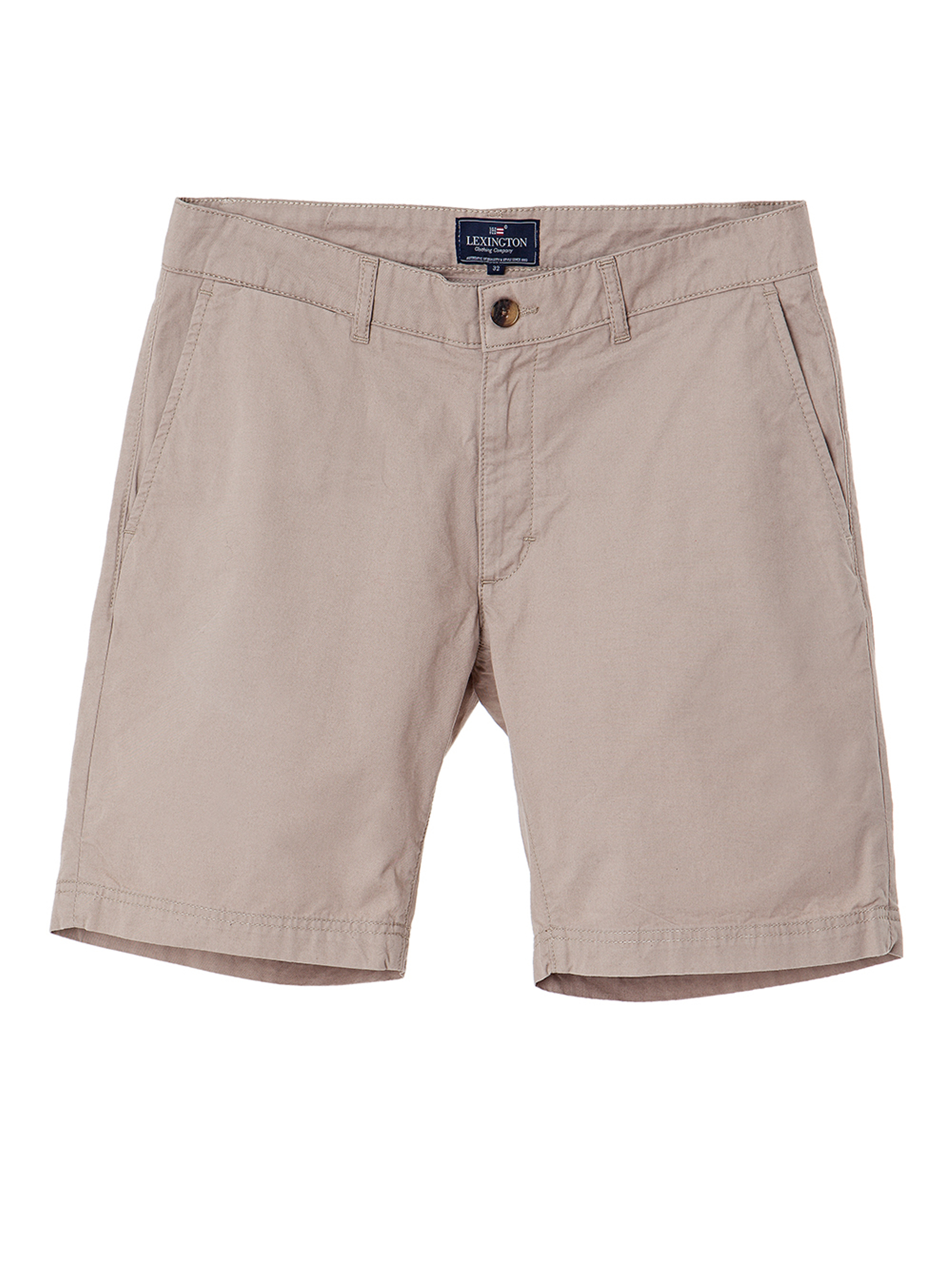 Gavin Chino Shorts, Silver Mink