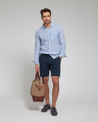 Gavin Chino Shorts, Deepest Blue