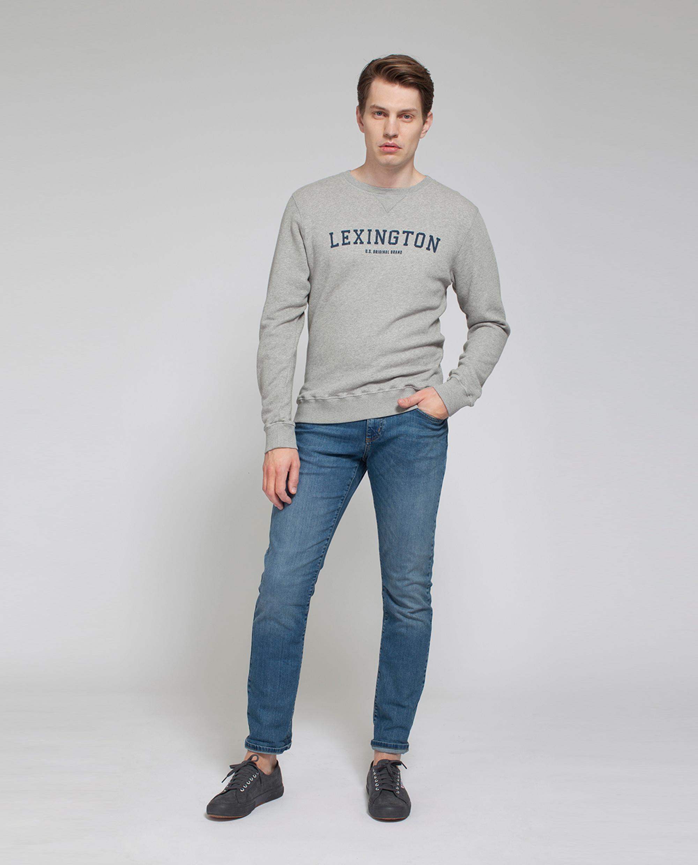 Lucas Sweatshirt, Light Warm Gray
